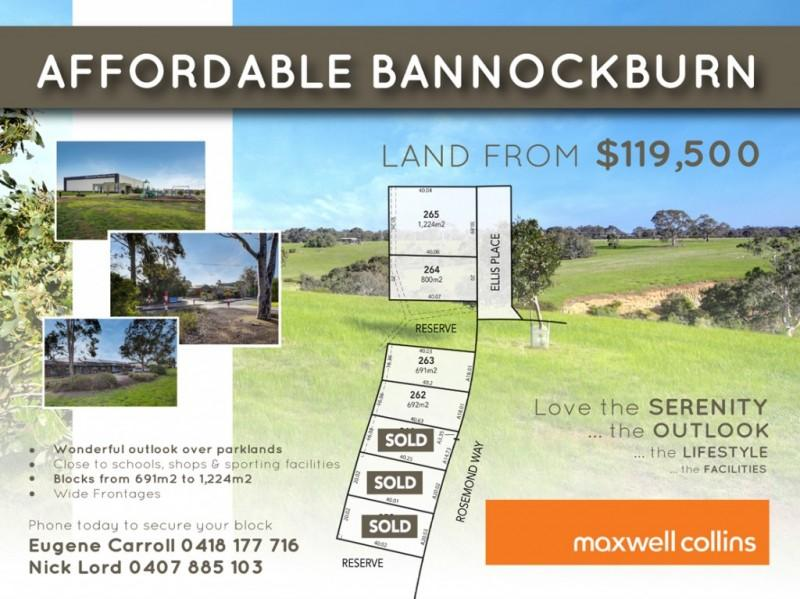6 Lots Rosemond Way, Bannockburn