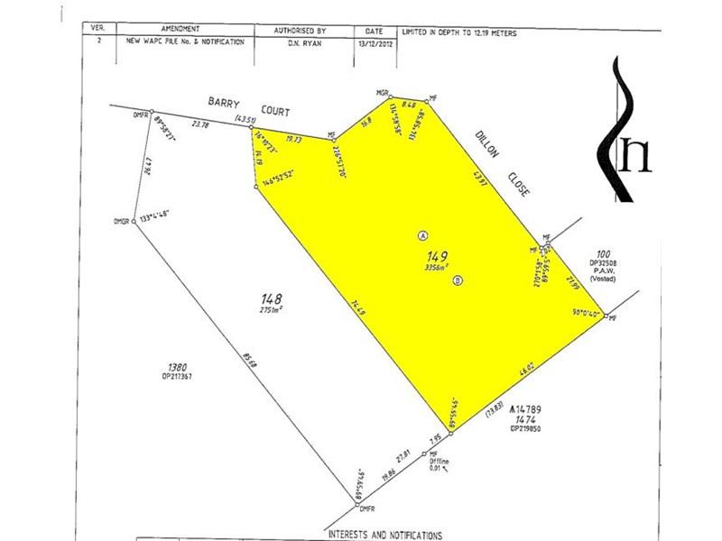 Lot 149 Barry Court, Collingwood Park WA 6330, Image 0