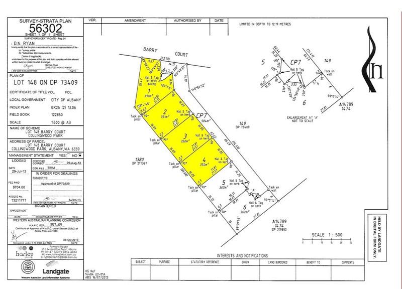 Lot 3/4 Barry Court, Collingwood Park WA 6330, Image 0