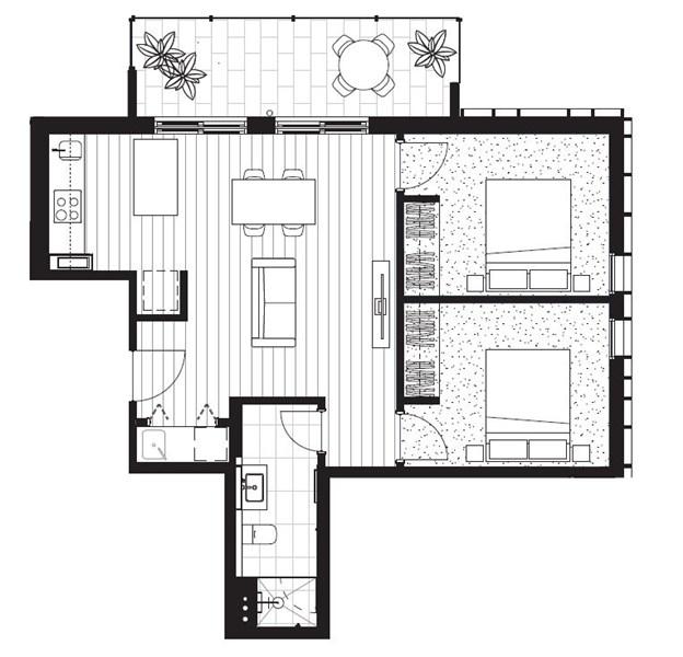 Floorplan for 905/466-482 Smith Street Collingwood