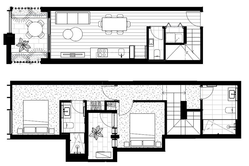 Floorplan for 109/466-482 Smith Street Collingwood