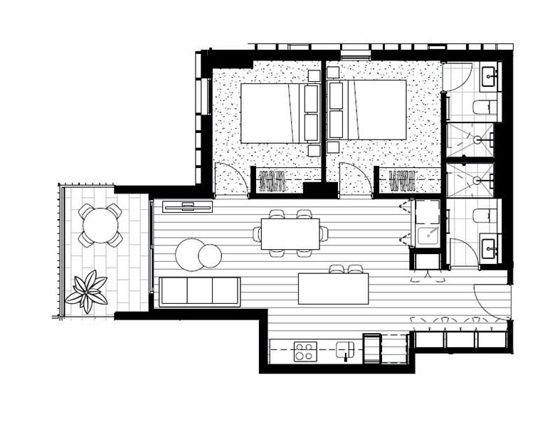 Floorplan for 506/466-482 Smith Street Collingwood