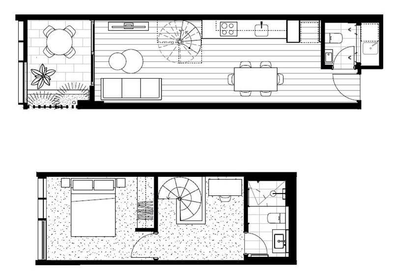 Floorplan for 113/466-482 Smith Street Collingwood