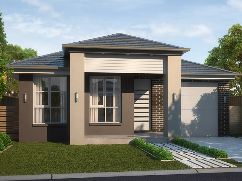 Lot 205 conduit street leppington nsw 2179 house for for Single level home designs nsw