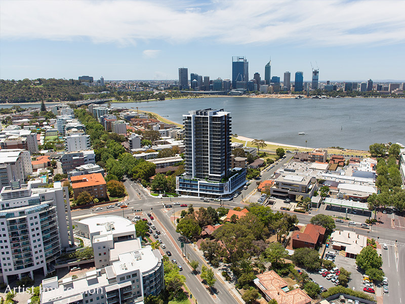 Aurelia south perth wa for sale for 55a swanview terrace south perth