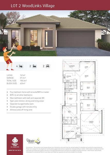 Lot 2/2 Cahill Crescent, Collingwood Park QLD 4301, Image 1