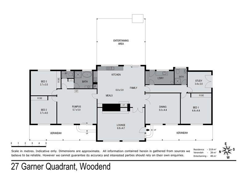 Sold 27 garner quadrant woodend vic 3442 on 14 nov 2015 for Floor quadrant