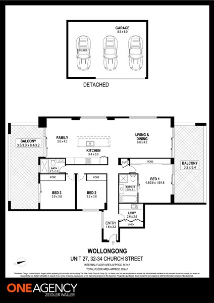 27/32-34 Church Street, Wollongong NSW 2500 Floorplan