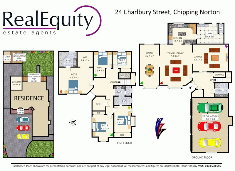 Sold 24 charlbury street chipping norton nsw 2170 on 07 for Perfect kitchens chipping norton