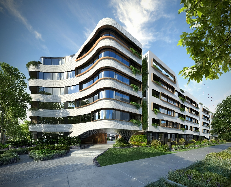 Eve by fridcorp in erskineville for Apartment design nsw